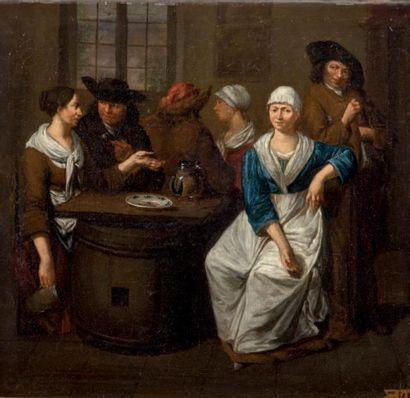 Attribué à HOREMANS LE BRUN (1682-1752/59)