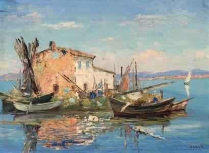Henri OLIVE DES MARTIGUES (1898-1980)