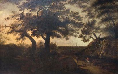 Ecole FLAMANDE, du XVIIème siècle, entourage de Jacques d'ARTHOIS