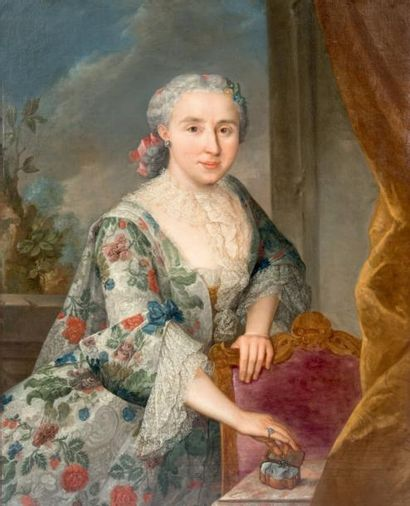 Attribué à Louis Antoine de SIXE (1704-1780) dit le CHEVALIER SIXE