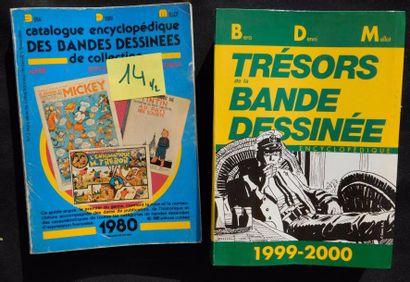 Un lot de BDM. 11 volumes pour les années...