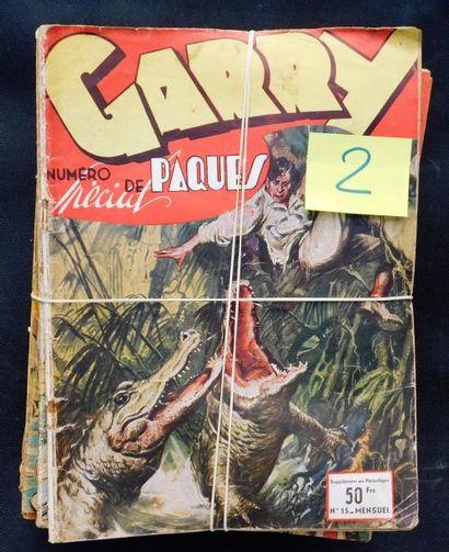 GARRY. Lot des n°15 (spécial Pâques), 29,...