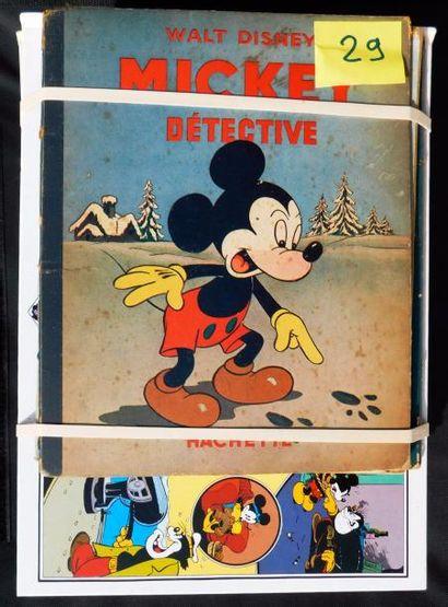 12 Volumes. «La fabuleuse histoire de Mickey»...