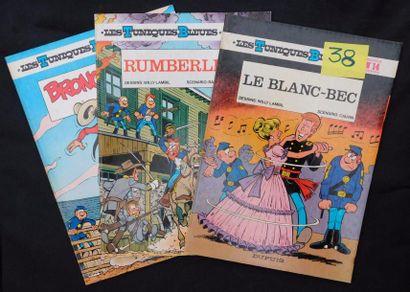 «Les Tuniques Bleues». Ensemble de 27 volumes....