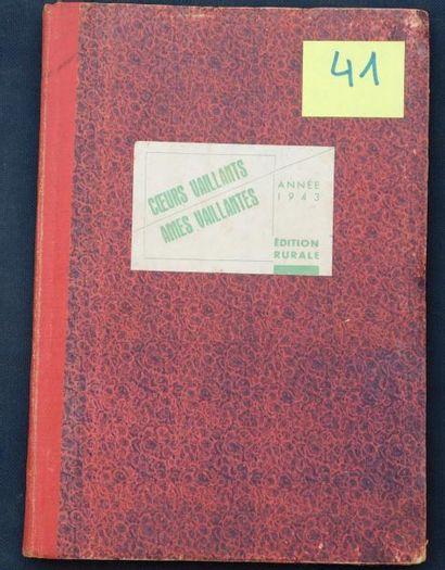 «COEURS VAILLANTS». Edition rurale, année...