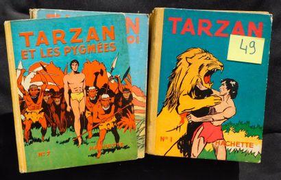 «TARZAN». Albums Hachette 1936-1950: n°1...