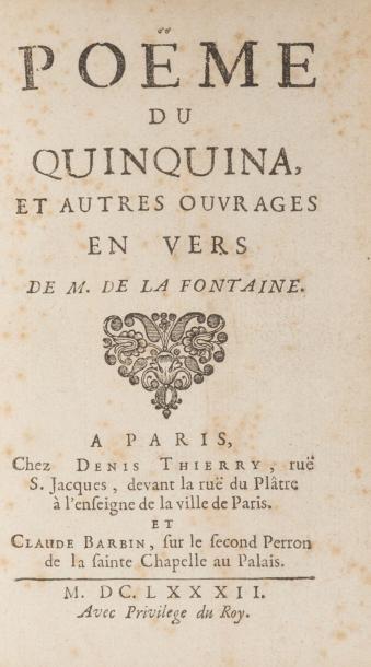 LA FONTAINE (Jean de)