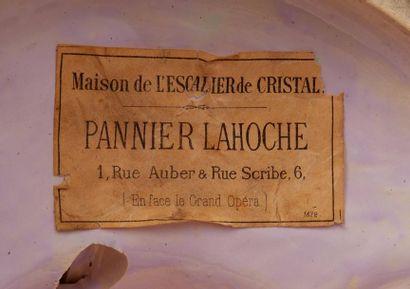 MINTONS PANNIER LAHOCHE (XIX-XXème)<br>Pour l'ESCALIER de CRISTAL