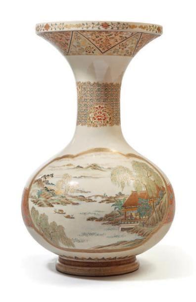 JAPON, Fours de Satsuma - Epoque MEIJI (1868 - 1912)