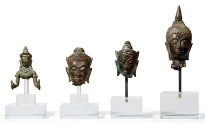 THAILANDE, Ayutthaya et LOPBURI - XVIIIe/XIXe et XIIIe siècle