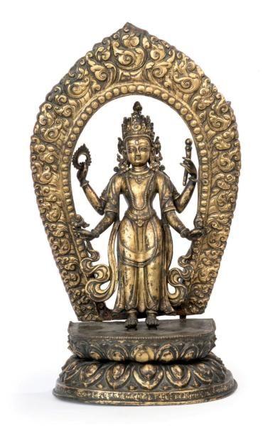 NEPAL - XVIIIe siècle