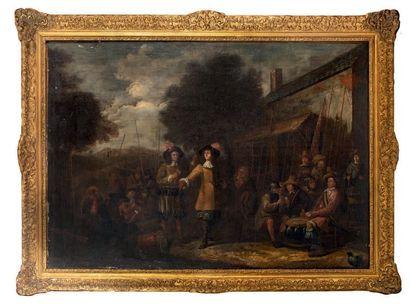 ÉCOLE HOLLANDAISE, XVIIe siècle