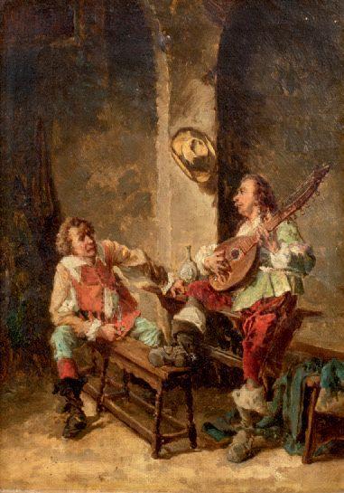 Dans le goût de Frans MOORMANS, XIXème siècle