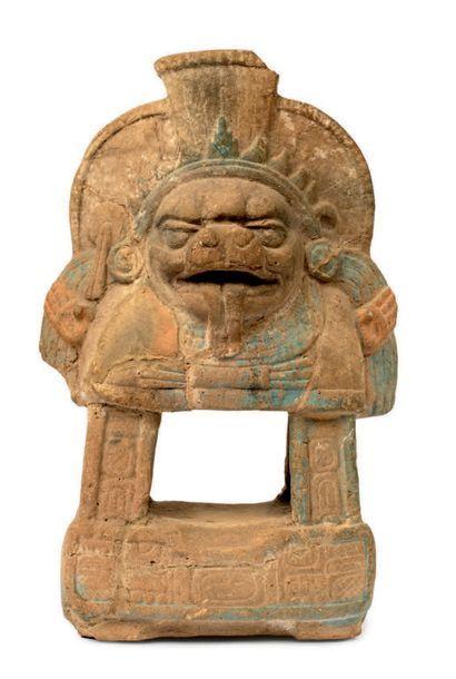 Autel à l'effigie du dieu solaire Rare exemple...