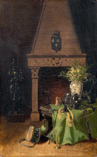 ÉCOLE FRANÇAISE, fin XIXème siècle