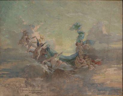 Alexis Jospeh MAZEROLLE (1826-1889)