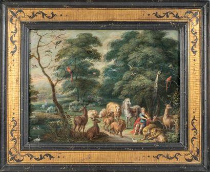 Ecole FLAMANDE du XVIIème siècle atelier de Jacob BOUTTATS