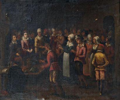 Ecole FLAMANDE de la fin du XVIIème siècle