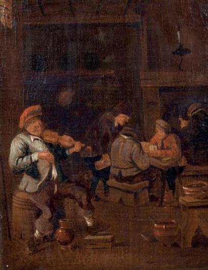 Ecole HOLLANDAISE du XVIIème siècle atelier de Gerrit LUNDENS