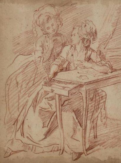 Attribué à Louis Roland TRINQUESSE (1746 - vers 1800)