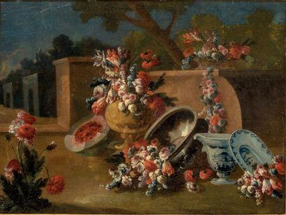 Ecole ITALIENNE, du XVIIIème siècle<br/>Atelier de Giuseppe LAVAGNA