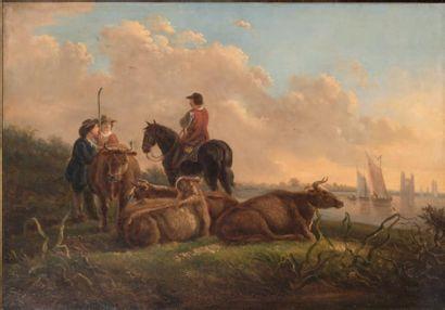Ecole HOLLANDAISE, du XIXeme siècle