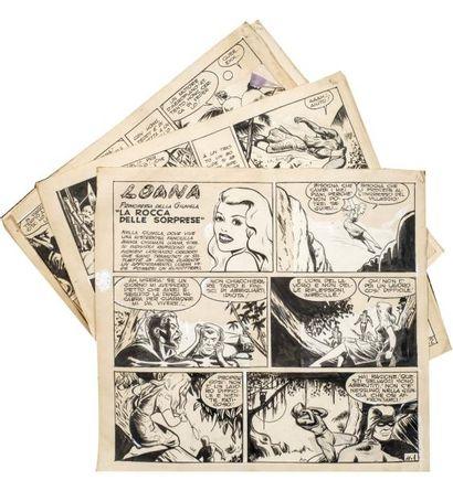 Planches et dessins originaux pour la SAGE....
