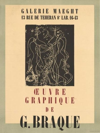George BRAQUE - 1947