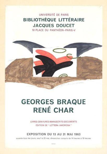 George BRAQUE - 1963