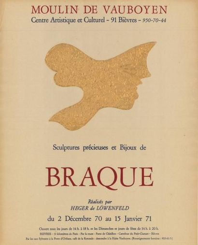 George BRAQUE - 1971