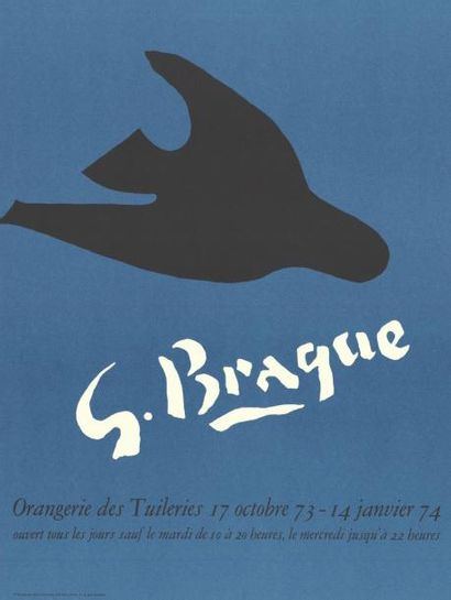 George BRAQUE - 1974
