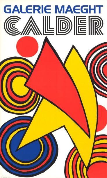 Alexander CALDER - 1968