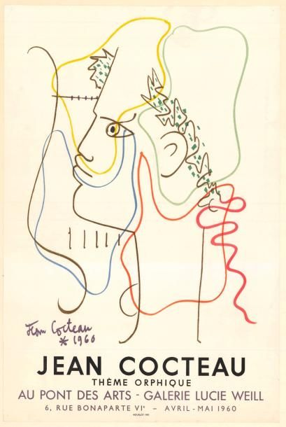 Jean COCTEAU - 1960