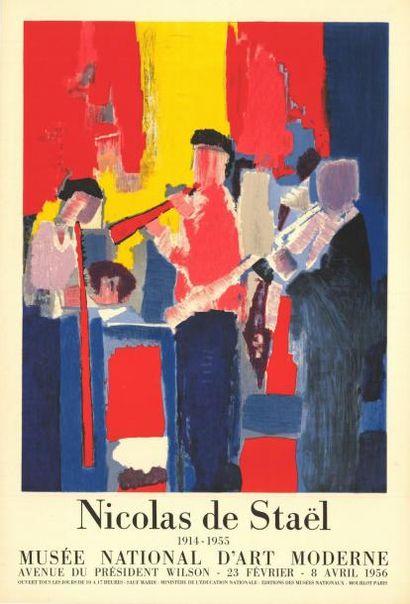 Nicolas DE STAEL - 1956