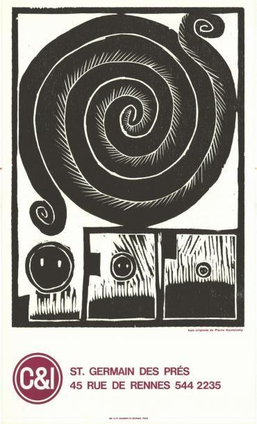 Pierre ALECHINSKY - 1974