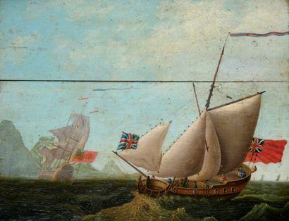 Ecole ANGLAISE (XVIIIe siècle)