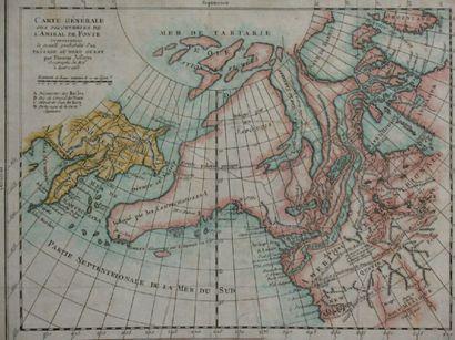 Carte générale des découvertes de l'Amiral...