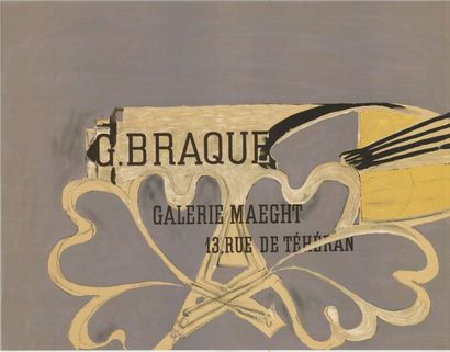 George BRAQUE - 1956