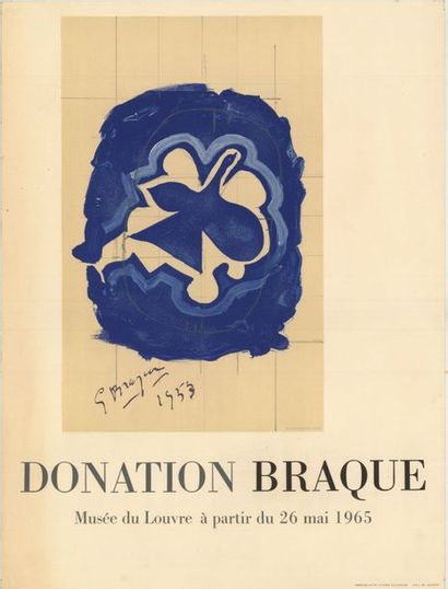 George BRAQUE - 1953
