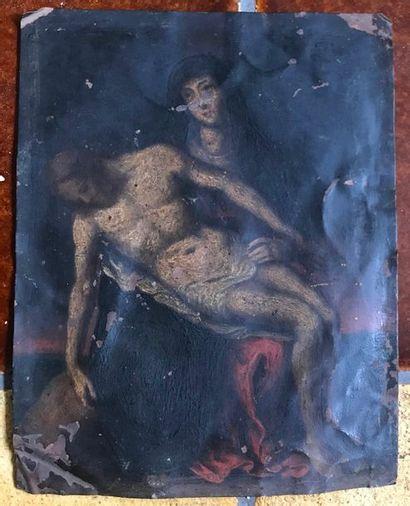 Marie et Jesus Huile