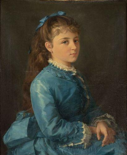 Ecole Française, XIXe siècle Portrait de...