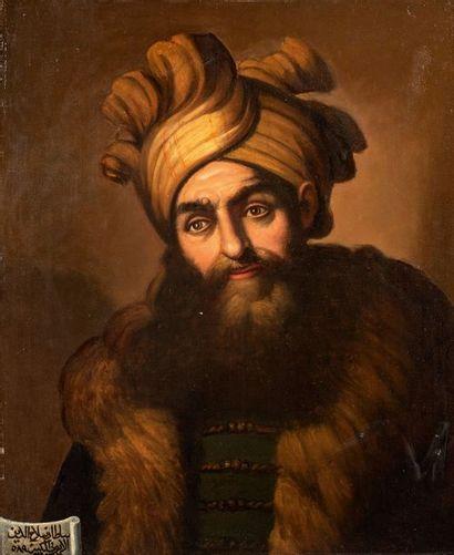 Ecole Orientaliste, XIXe siècle Portrait...