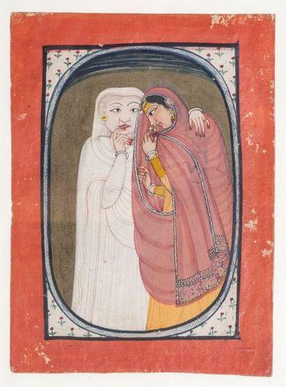 Inde, XVIIIe siècle Penjab, Mandi, circa...