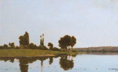 Jacques Henri DELPY (1877-1957) Barque au...
