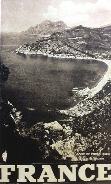 Golfe de Porto - Plage de Bussagna vers 1930...