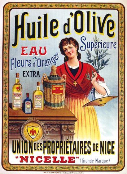 Huile d'Olive Nice Eau supèrieure de Fleurs...