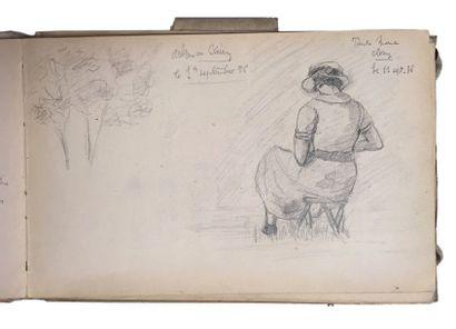 Jules-Cyrille Cavé (1859-c.1940)  Lot de...