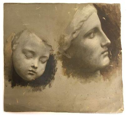 Jules-Cyrille Cavé (1859-c.1940)  4 études...