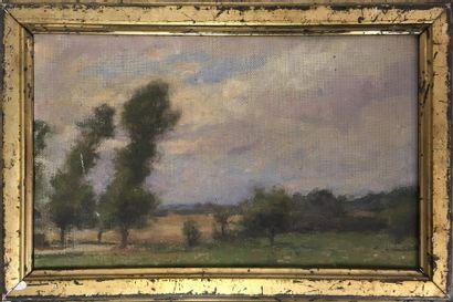 Jules-Cyrille Cavé (1859-c.1940)  Paysage...