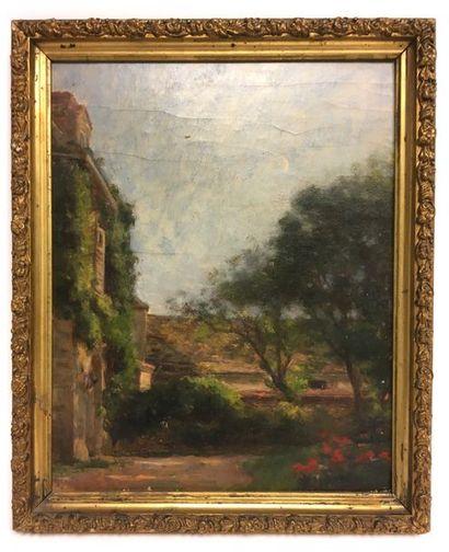 Jules-Cyrille Cavé (1859-c.1940) Vue de Villa...